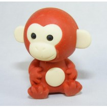 Iwako Jungle Paradise: Brown Monkey Japanese Eraser