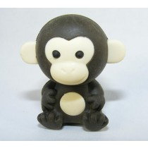 Iwako Jungle Paradise: Dark Coco Monkey Japanese Eraser