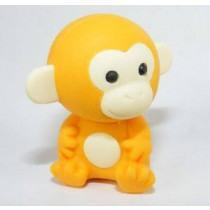 Iwako Jungle Paradise: Orange Monkey Japanese Eraser