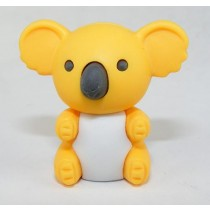 Iwako Orange Koala Bear Japanese Eraser