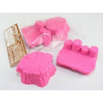 Iwako Pink Log Stools (Table & Chair) set Japanese Eraser