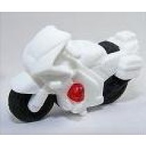 Iwako White Vroom Vroom SuperBike Japanese Eraser
