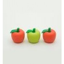 Iwako 3 Pencil Top Grip Apple Japanese Eraser