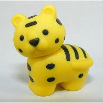 Iwako Safari Zoo Animals: Yellow Siberian Tiger Japanese Eraser