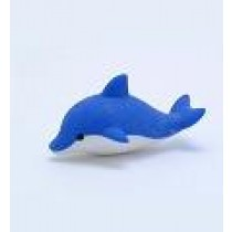 Iwako Sea Animal Blue Dolphin Japanese Eraser