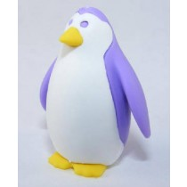 Iwako Marine Sea Animal Purple Penguin Japanese Eraser
