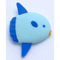 Iwako Sea Animal Blue Sun Fish Japanese Eraser