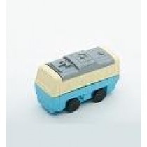 Iwako Blue White Train Japanese Eraser