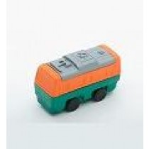 Iwako Green Orange Train Japanese Eraser