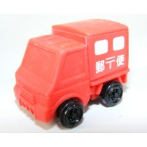 Iwako Vehicle: Red Delivery Truck Japanese Eraser