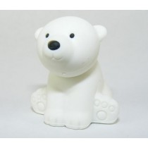 Iwako Wild Animals White Arctic Polar Bear Japanese Eraser