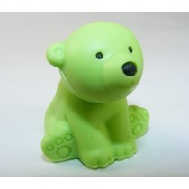 Iwako Wild Animals Green Polar Bear Japanese Eraser