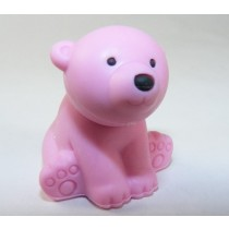 Iwako Wild Animals Pink Polar Bear Japanese Eraser