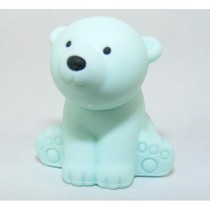 Iwako Wild Animals Sky Blue Arctic Polar Bear Japanese Eraser