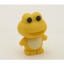 Iwako Yellow Froggy Japanese Eraser