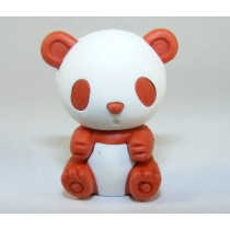 Iwako Colour Brown Panda Japanese Eraser