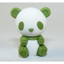 Iwako Colour Bamboo Green Panda Japanese Eraser