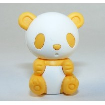 Iwako Colour Yellow Panda Japanese Eraser