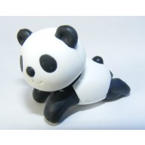 Iwako Zoo Animals: Black Cool Panda Chill Out Japanese Eraser