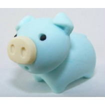 Iwako Zoo Animals Piggy Blue Pig Japanese Eraser