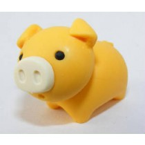 Iwako Zoo Animals Piggy Orange Pig Japanese Eraser