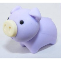 Iwako Zoo Animals Piggy Purple Pig Japanese Eraser