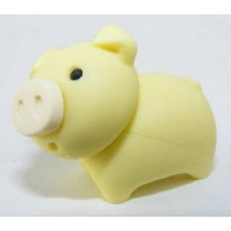 Iwako Zoo Animals Piggy Yellow Pig Japanese Eraser