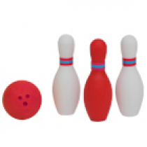 Iwako Red bowling set Japanese Eraser