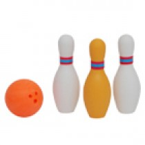 Iwako Orange bowling set Japanese Eraser
