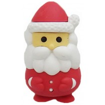 Iwako Red Santa Claus Japanese Eraser